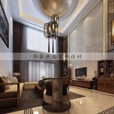 中式别墅室内设计案例