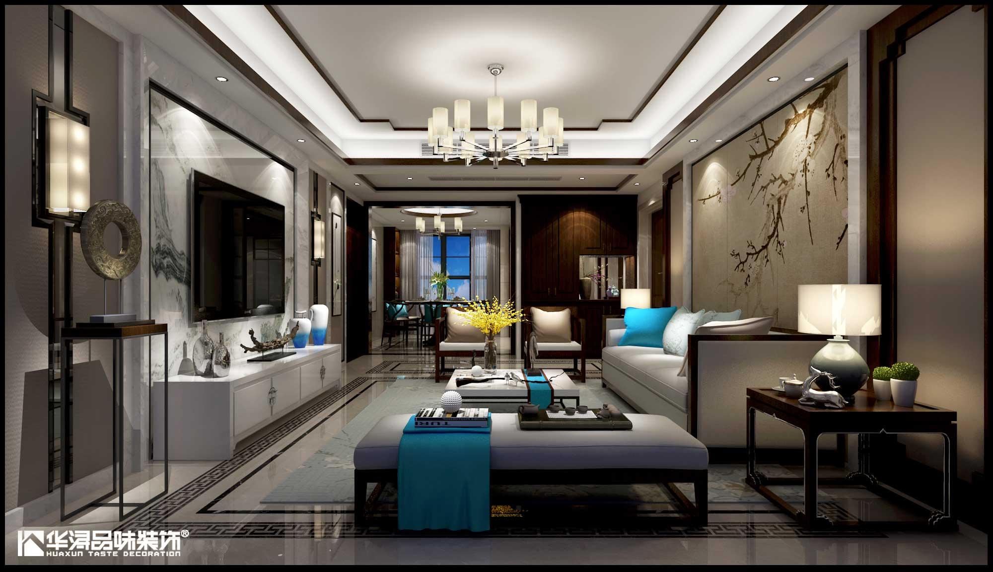 海景国际 新中式 三房