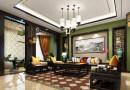 乔治庄园180平中式风格四居室装修效果图