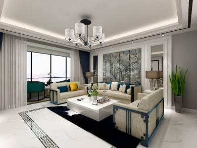 105街坊160平现代简约风格装修案例