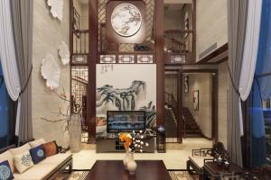 自建别墅中式风格刘先生雅居
