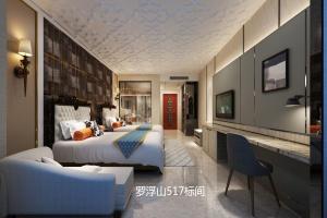 惠州市罗浮山现代风格廖先生雅居