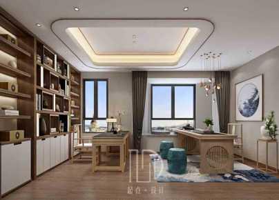 湖南茶陵县的一个新中式复式楼