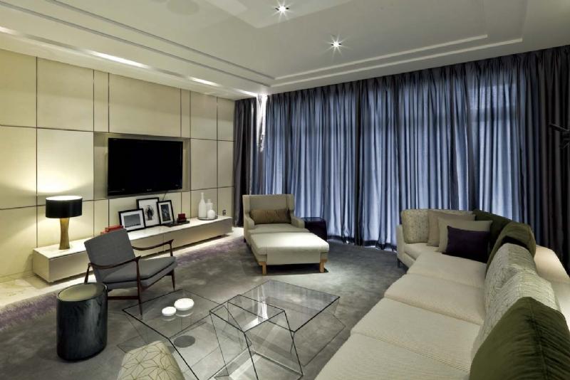 鑫江玫瑰园 现代简约风格120平 套三 大包13万