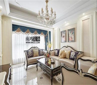 钱江府 三居  128方  新古典风格