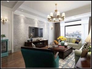 天威绿谷三室简美风格
