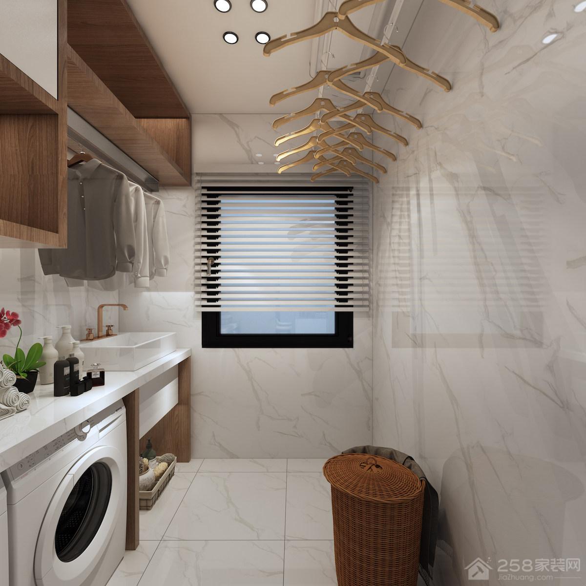 现代风格洗衣房装修效果图