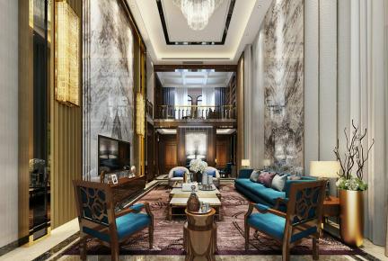 别墅客厅风水-别墅客厅布局-别墅装修设计公司