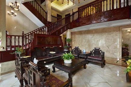 别墅古典中式装修设计风格