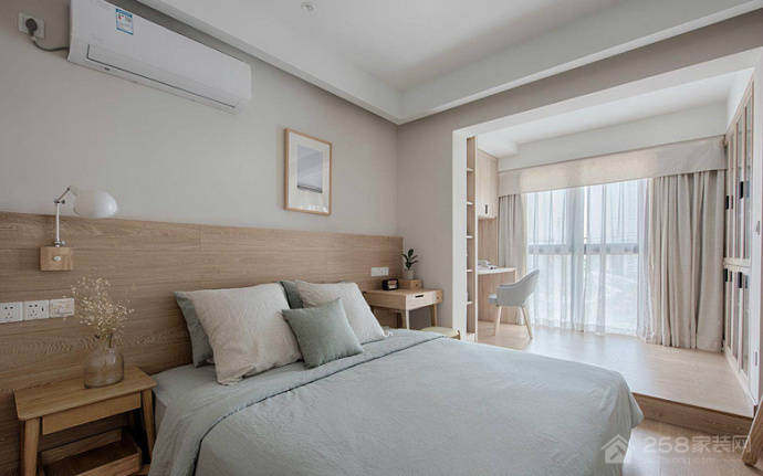 鑫江玫瑰园 现代简约风格95平 套三 大包8.4万