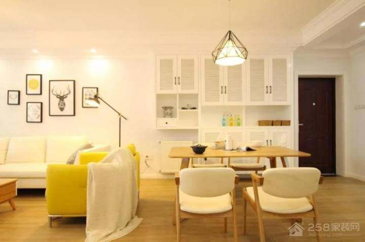 中科青岛研发城 北欧风格99平 套三 大包9万