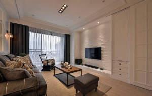 豪布斯卡二居室现代风格