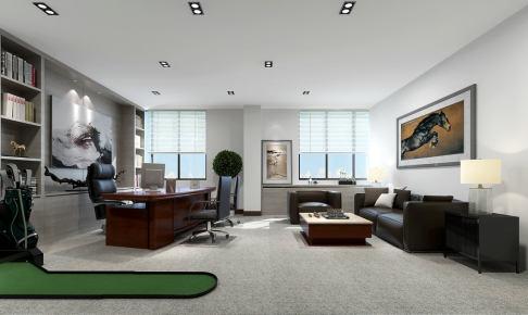 办公室商业空间装修设计施工