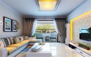 中海御山首府140M²现代简约风格装修