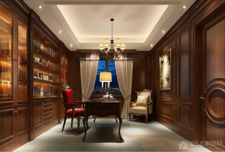 优雅古典中式书房装修图片