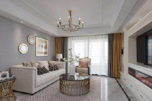 现代美式风格家居装修设计
