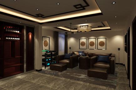 海泊澜庭 五居室 新中式