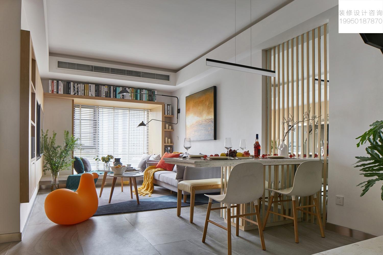 105平双层复式 趣味现代生活空间