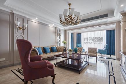 |南鸿装饰|悦麒美寓法式风格260方