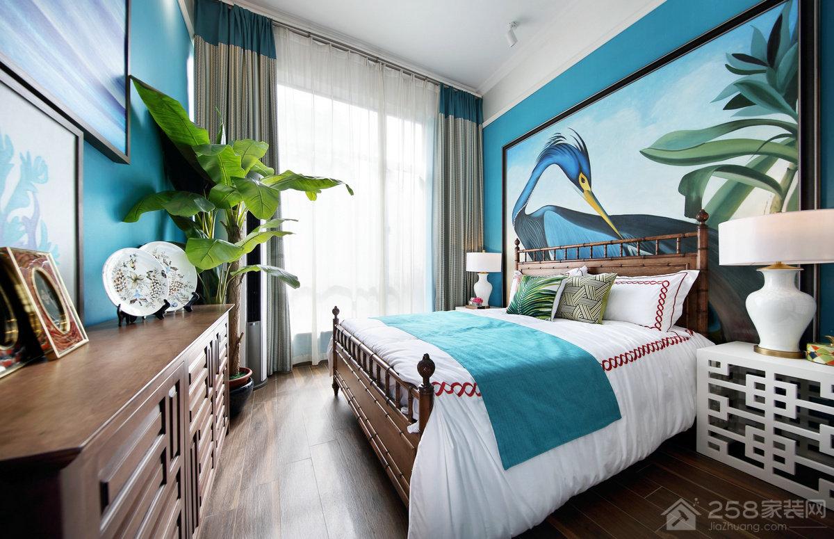 金科天湖小镇别墅387㎡东南亚风格