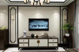 新中式风格天峰首府90平三居室