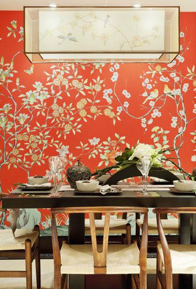 【维享家装饰】136平新中式风格案例