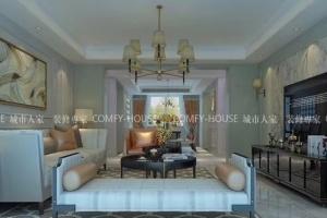 新古典风格汇豪观邸小区180平四居室