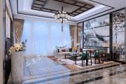 新中式平层彰显低调奢华