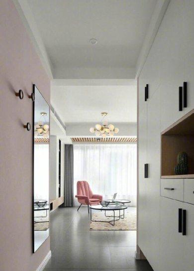 龙津大厦121㎡三居室现代简约风格