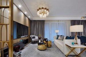 中国铁建江湾山语城  欧式风格 125平  三居室