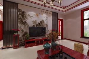 恒大-明都馨园150㎡古典中式