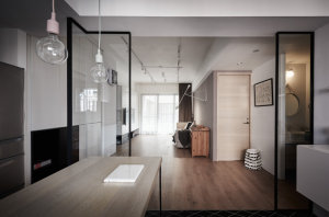 建峰小区102㎡现代简约风格