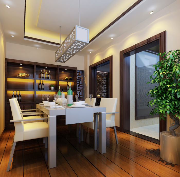东湖楚世家新中式风格家装案例