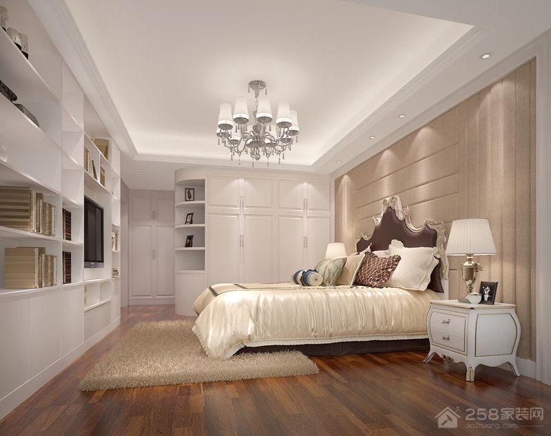 现代简约卧室组合展示柜图片