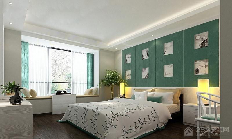 简约风格卧室飘窗设计图片