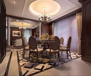 香港鼎泰国际设计:西溪融庄650方新古典美式名流豪宅