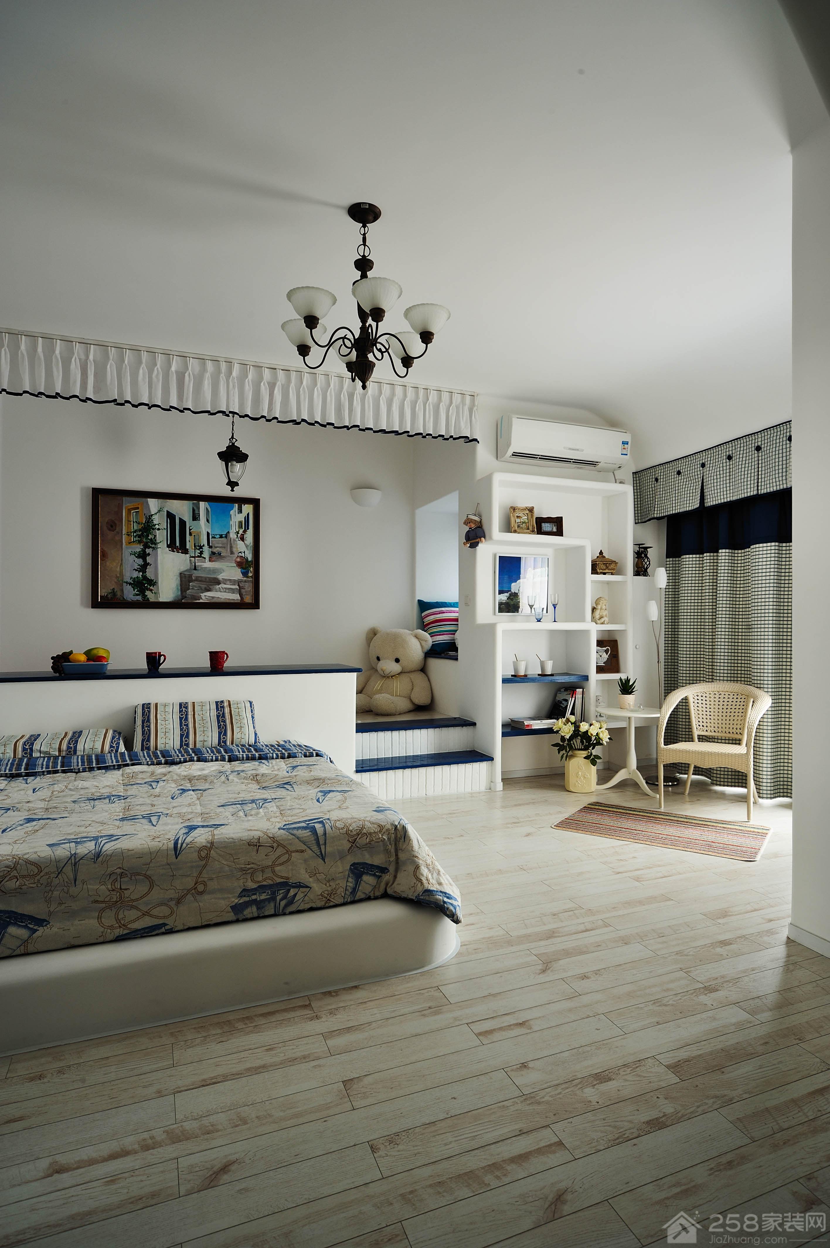 两居室地中海风格装修效果图