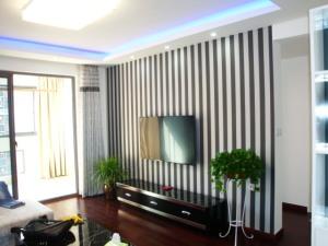 【米兰居装饰】90平米现代简约2室2厅装修效果图