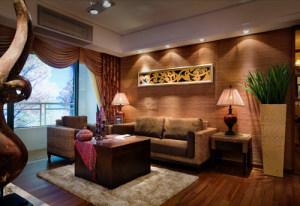 四居室东南亚风格