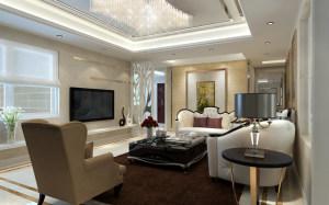西雅图145平三居室简约风格设计方案