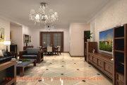 郑州实创装饰-农大家属院200平四居室简约装饰设计