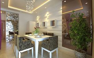 盘锦晋级装饰现代简约三居室装修设计