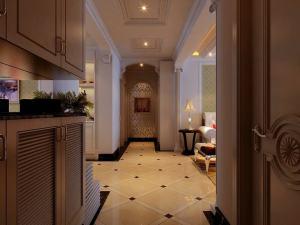 欧美风情三居室装修设计