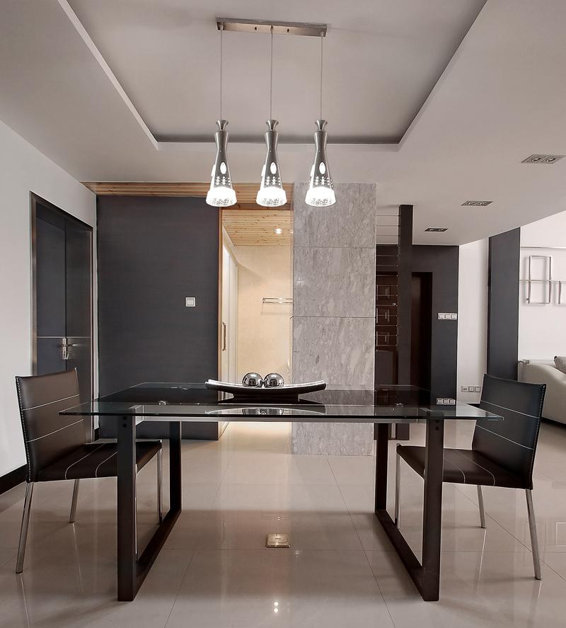 东莞欧景城复式家庭住宅现代风格简约装修