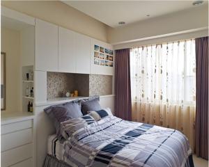 功能型的126平三居室现代简约装修