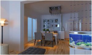 4万打造精品橡树湾110平现代简约二居室装修