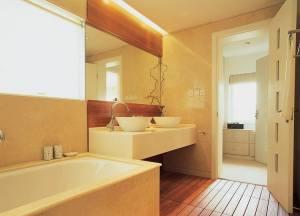 现代简约二居室施工设计