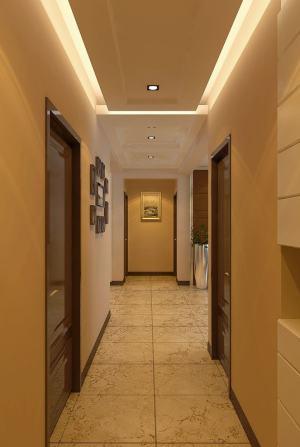 盘锦锦城明郡现代简约125平二居室装修设计
