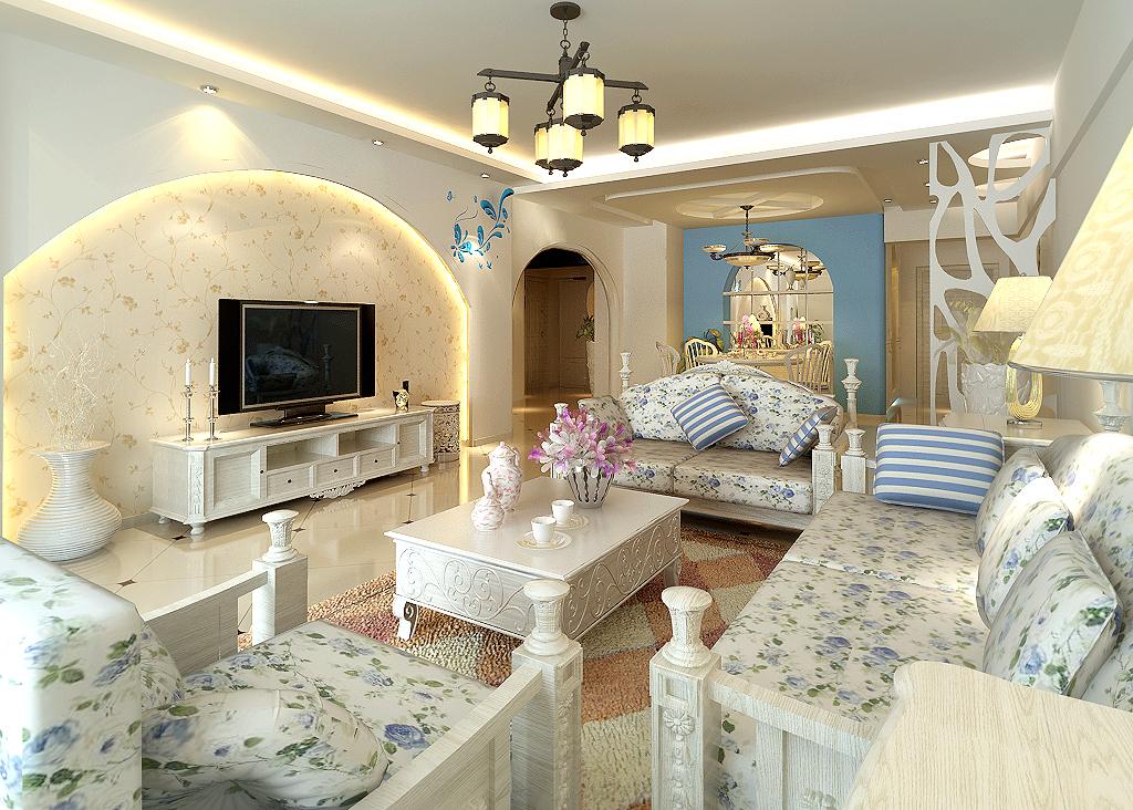 韩式风格客厅