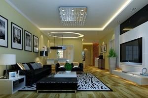 10万打造现代简约128平3居室